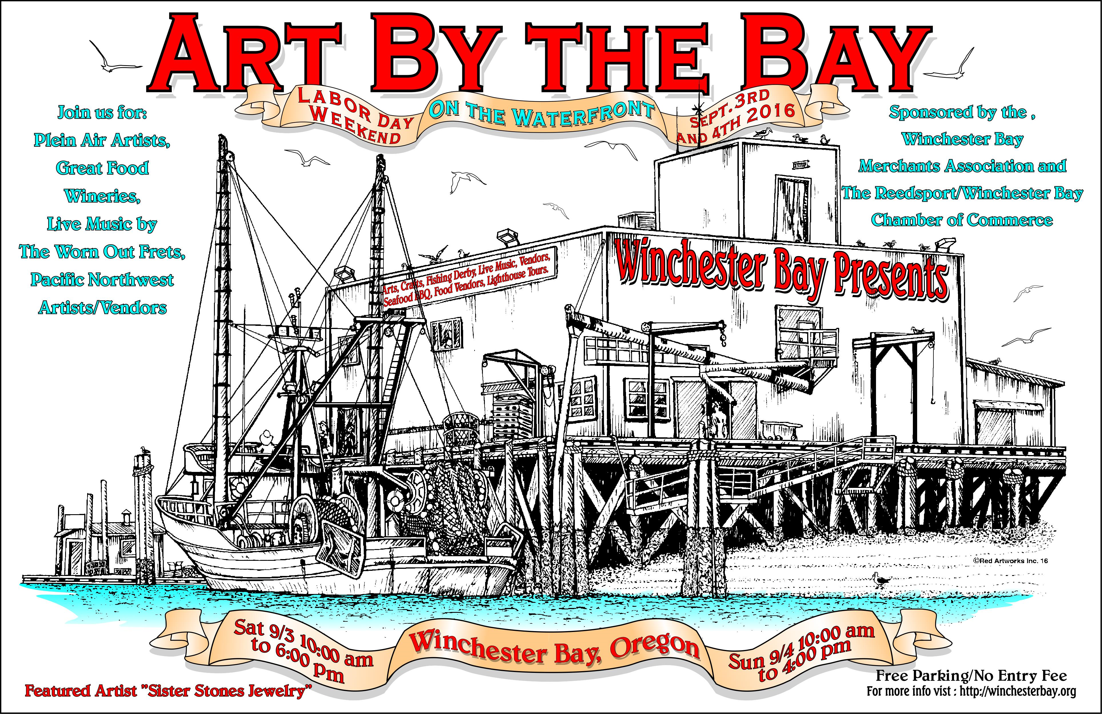 last art by bay poster 1